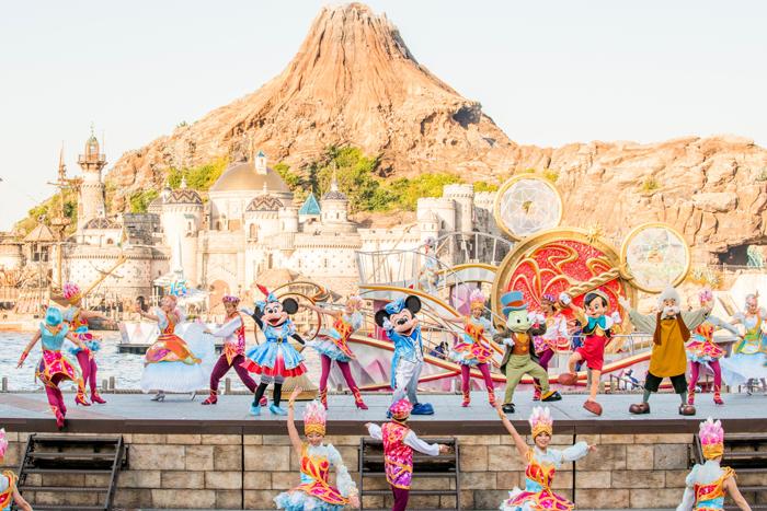 """新ハーバーショー『東京ディズニーシー15周年""""ザ・イヤー・オブ・ウィッシュ""""』"""