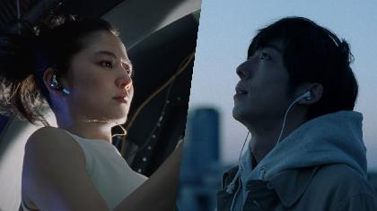 長澤まさみと高橋一生が夫婦役に dTVの新CM「ふたりをつなぐ物語」篇で 東京と宇宙ステーション離れて暮らす二人の心の交流を表現