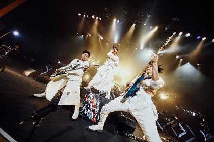 シド 3年半ぶりアルバム『NOMAD』に込めた新たな世界を縦横無尽に表現、ツアー折り返しの東京公演レポ