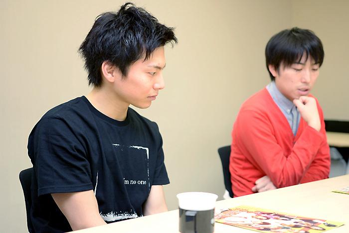 (左から)宮崎秋人、中屋敷法仁