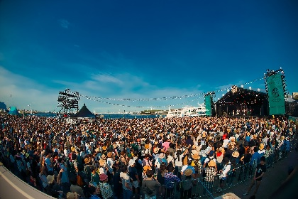 GREENROOM FESTIVAL'16 快晴の海沿いで最高のライブ!チャカ・カーン、hiatus kaiyote、DefTech、クラムボンなど出演の2日目
