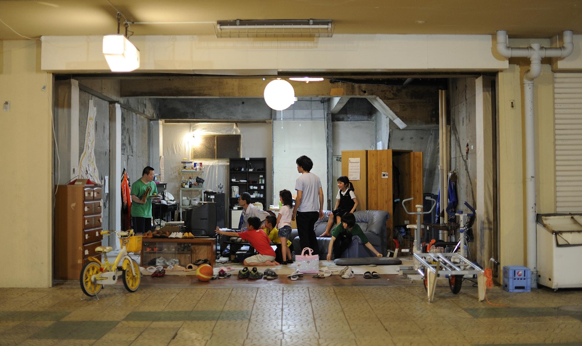 北澤 潤《リビングルーム》photo by Yuji Ito(参考画像)