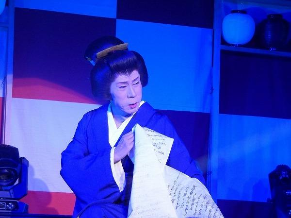 澤村新吾・初代座長 現在は劇団責任者を務める。