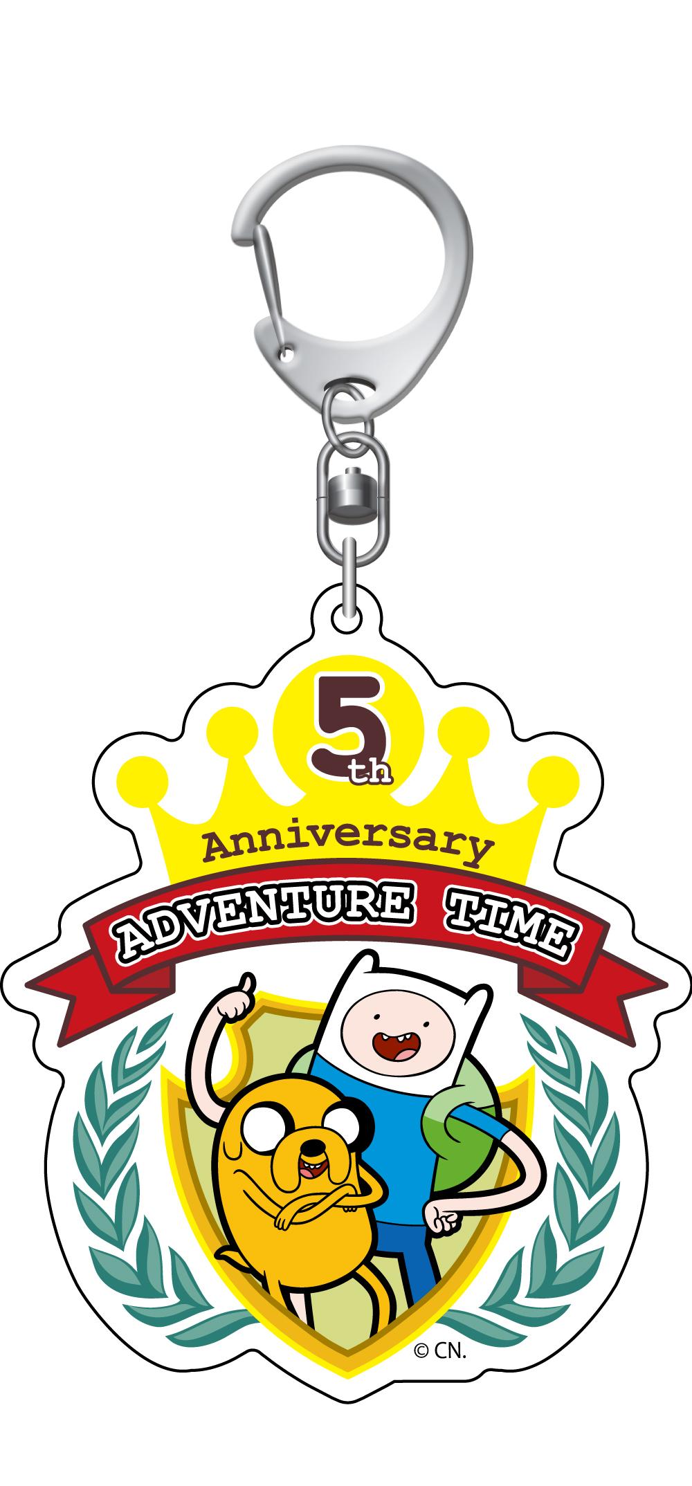 5周年ロゴキーホルダー TM & (C) Cartoon Network.(S17)