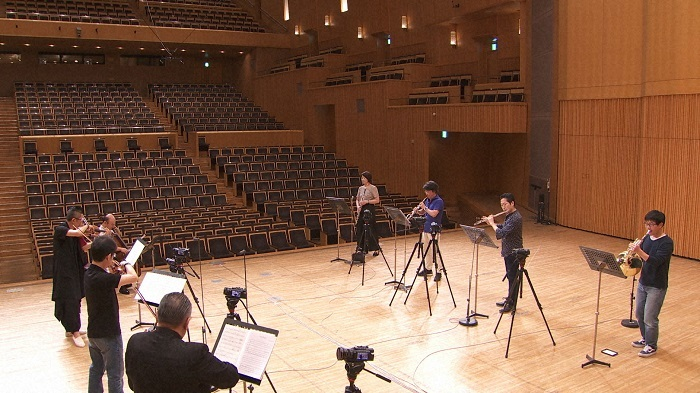 木管楽器と弦楽器8名による モリコーネ「ニュー・シネマ・パラダイス」