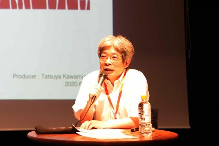 「豊岡演劇祭2020」フェスティバル・ディレクターの平田オリザ