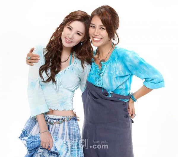 娘ソフィ役のソヒョンと母ドナ役のチェ・ジョンウォン