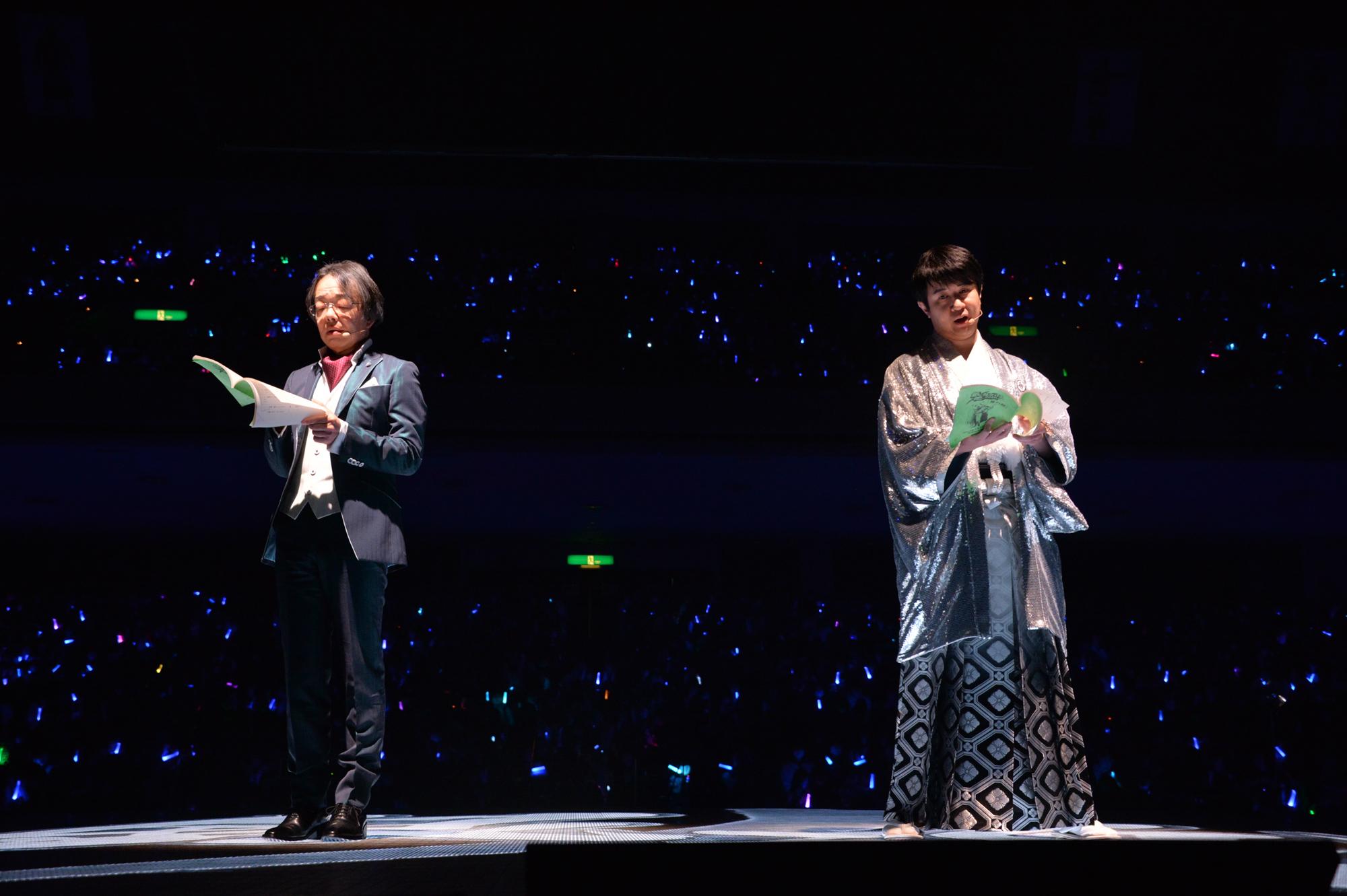 銀魂銀祭り2019(仮)生アフレコ (C)空知英秋/集英社・テレビ東京・電通・BNP・アニプレックス