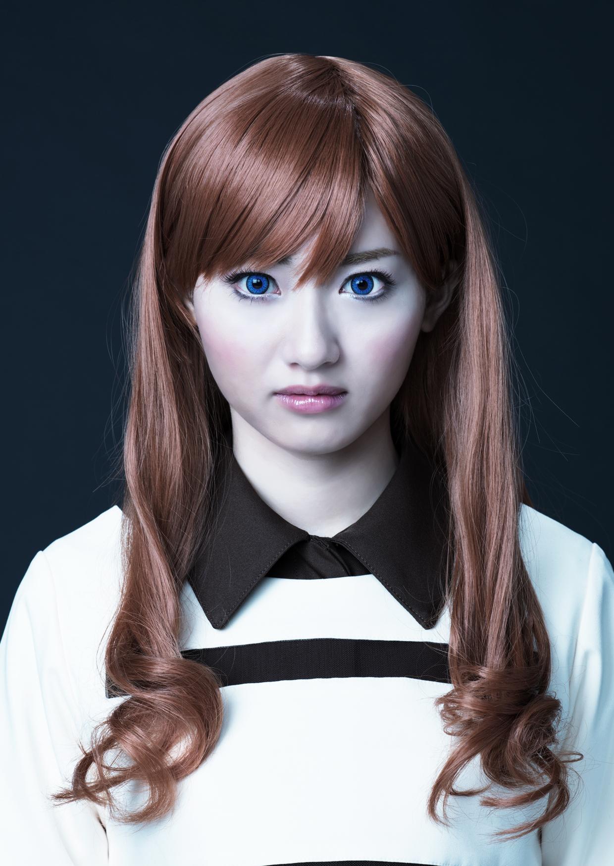 桃瀬美咲さん演ずるエマ ©士郎正宗・Production I.G/講談社・「攻殻機動隊ARISE」製作委員会