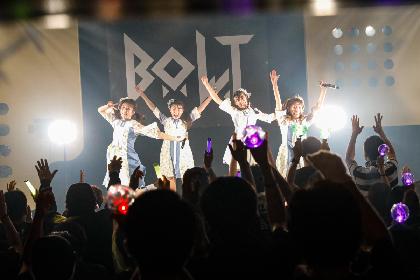 「3年目も突っ走っていきたいと思います!」B.O.L.T、結成2周年アニバーサリーライブを開催
