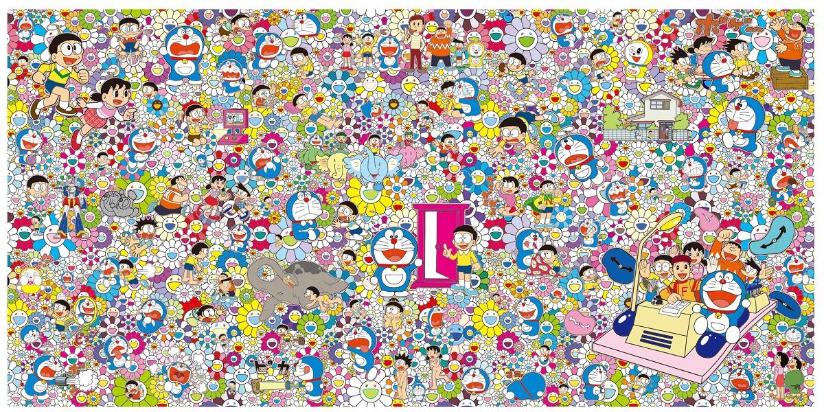 村上隆 出展作品 タイトル未定  ©2017 Takashi Murakami/Kaikai Kiki Co., Ltd. All Rights Reserved. ©Fujiko-Pro