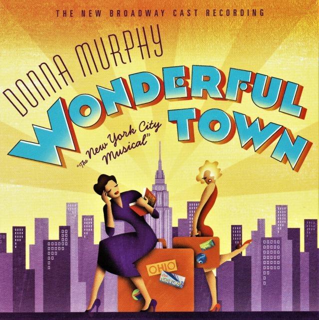 『ワンダフル・タウン』、2003年の再演版オリジナル・キャストCD(輸入盤)