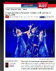 シルク・ドゥ・ソレイユの『Paramour』、ブロードウェイで上演が決定!