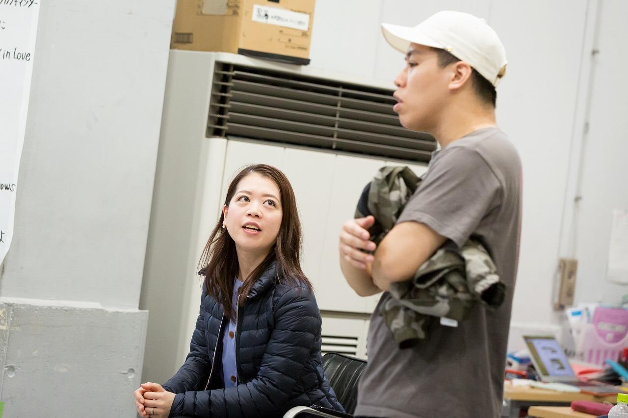 鈴木明子、梅棒・伊藤今人 (C)赤坂久美