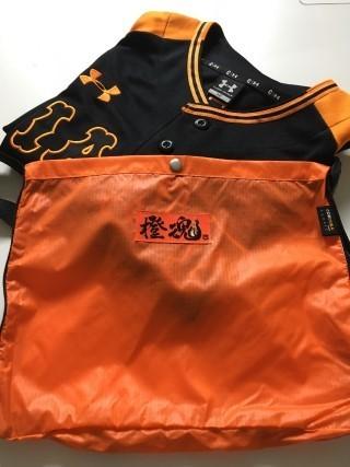 橙魂ロゴ入りユニホームバッグ