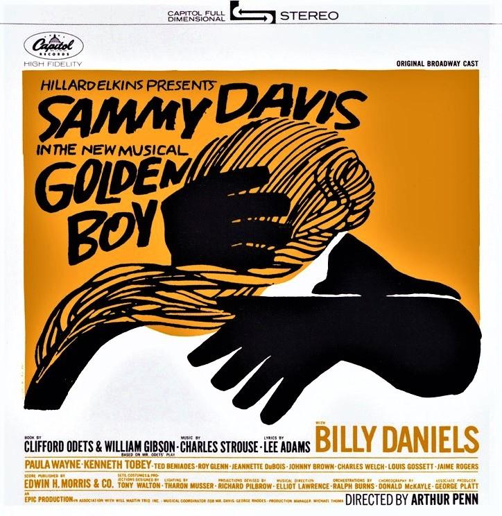 『ゴールデン・ボーイ』(1964年)のオリジナル・キャストCD(輸入盤)。ジャケットのデザインが秀逸だ。