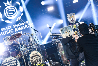 マカロニえんぴつ、Creepy Nuts、高橋優、マンウィズら4組の個性が光る『SPACE SHOWER MUSIC AWARDS 2021 AFTER LIVE SHOW』