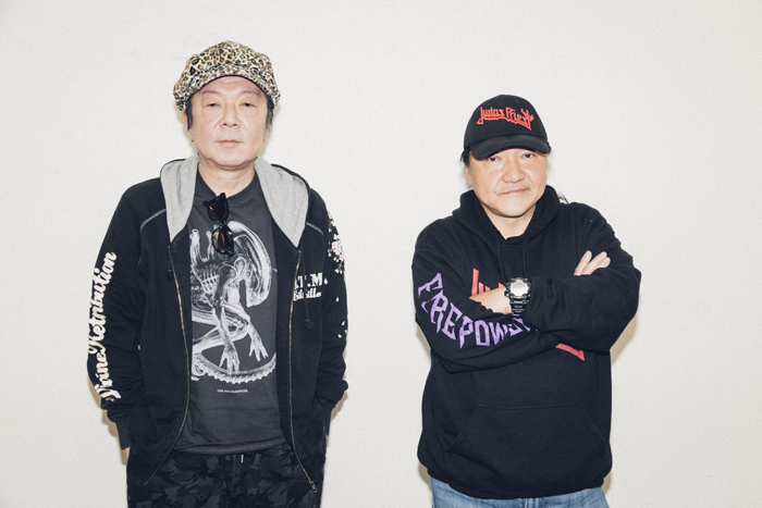 (左から)古田新太、いのうえひでのり