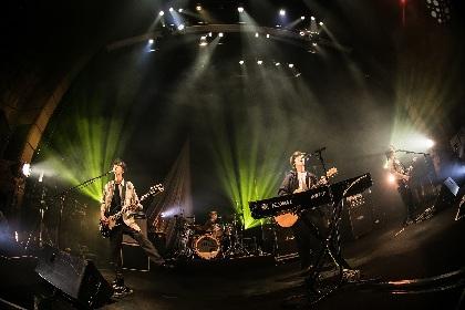 バンドの新たなるスタンダード確立へ、SHE'Sが初のホールツアーでみせた姿
