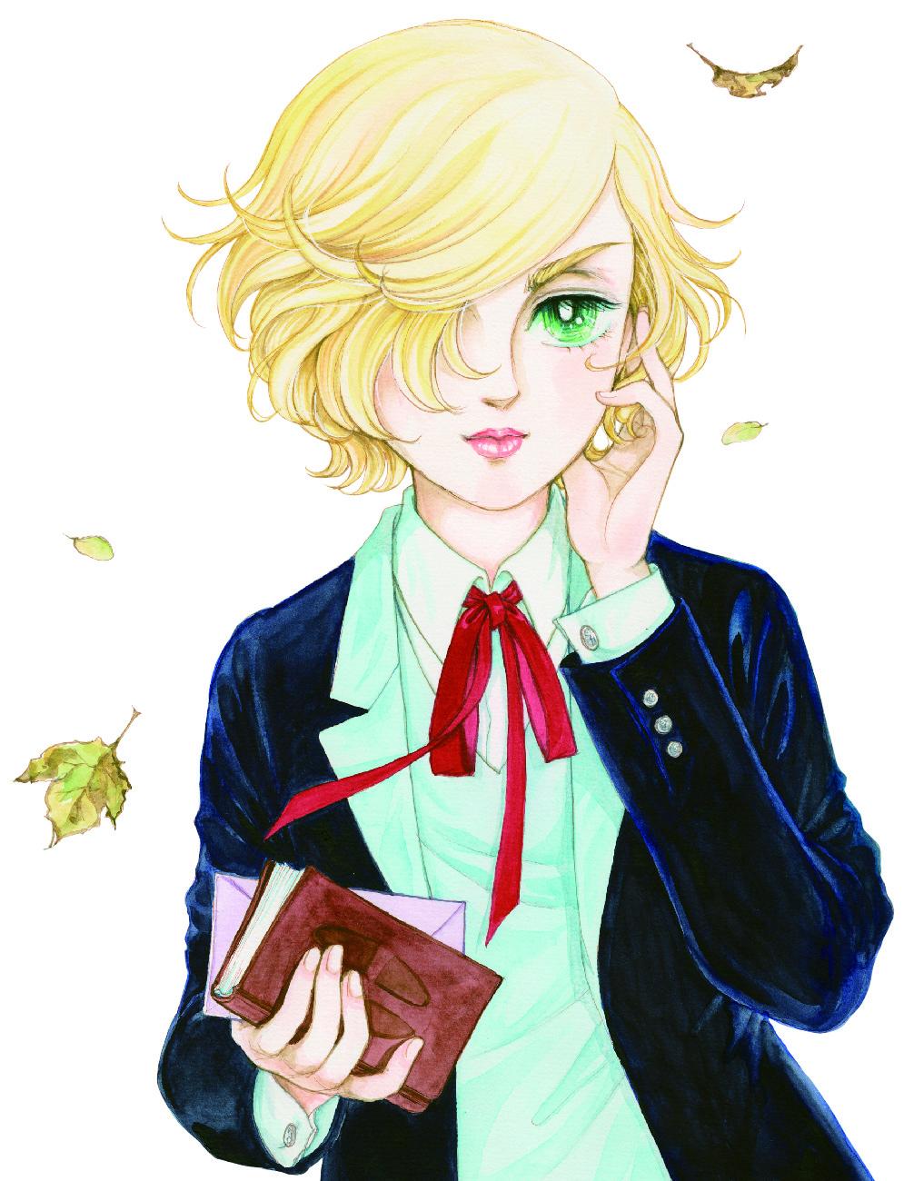 『風と木の詩』よりジルベール (C)竹宮惠子