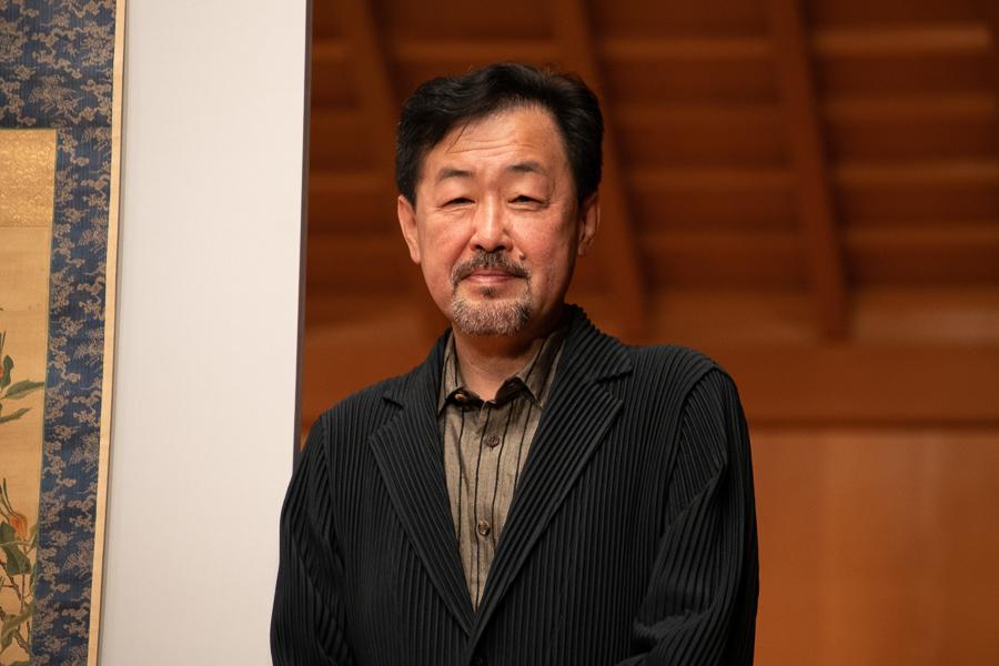 展覧会監修者 山下裕二氏(明治学院大学教授)