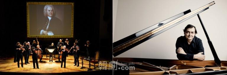 (写真左)ターフェルムジーク・バロック管弦楽団 ©Glenn Davidson (写真右)ピエール=ローラン・エマール ©Marco Borggreve