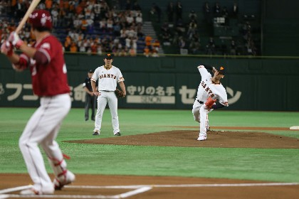 関口メンディー(EXILE/GENERATIONS)、プロ野球始球式で133キロ室伏広治越えの速球を投げ「現役の時より球速はあがっています」