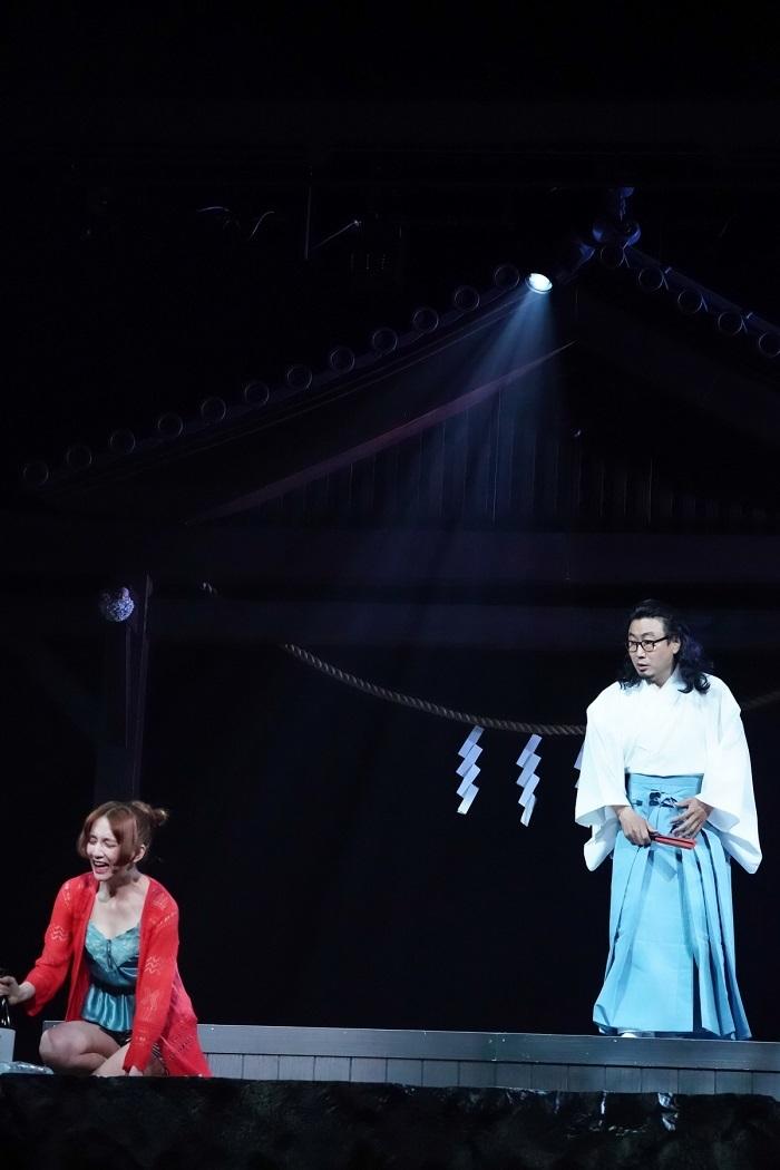 (左から)長井 短、中山祐一朗  撮影:田中亜紀