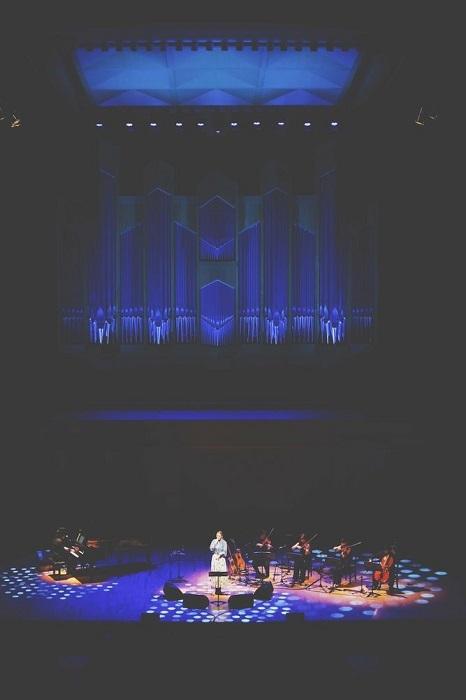 『手嶌葵15th Anniversary Concert 〜Piano & Strings Quartet〜』 (C)大川晋児