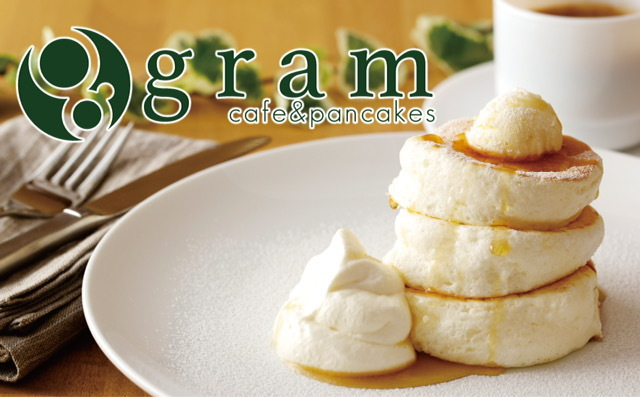 café & pancakes gram