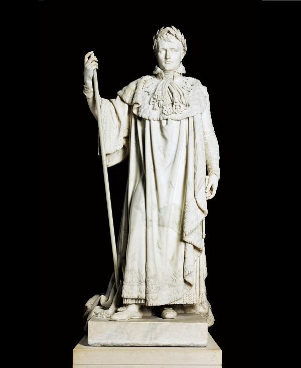 クロード・ラメ《戴冠式の正装のナポレオン1世》1813年 Photo © RMN-Grand Palais (musée du Louvre) / Michel Urtado /distributed by AMF-DNPartcom
