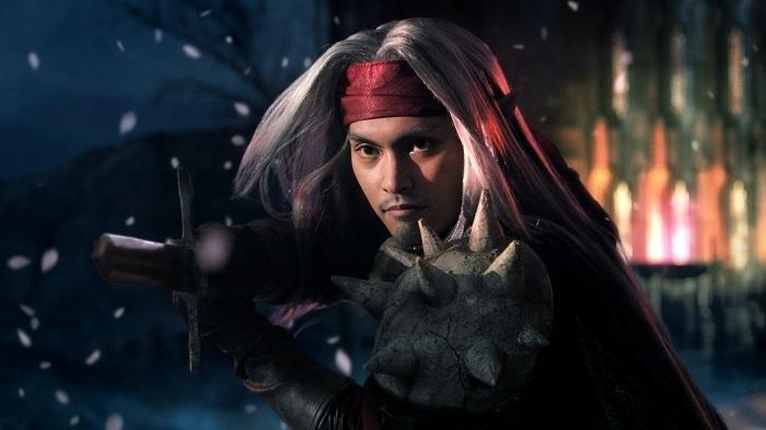 柳楽優弥演ずる「魔剣士ピサロ」