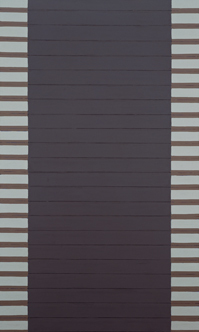《Work C.216》1964-65年 油彩・キャンバス 162×97㎝